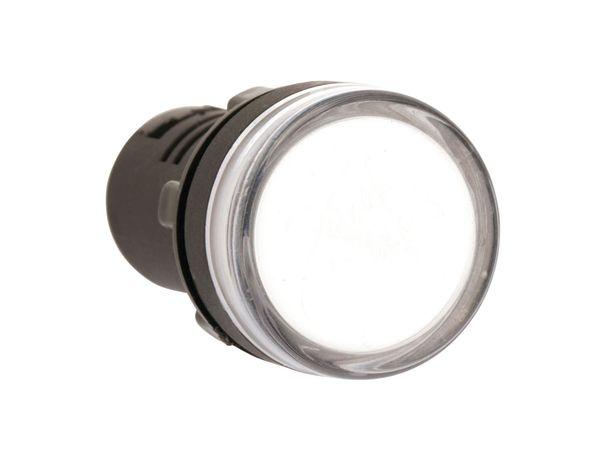 LED-Signalleuchte, Kontrollleuchte DAYLITE LSL-29230W, 230 V, weiß - Produktbild 2