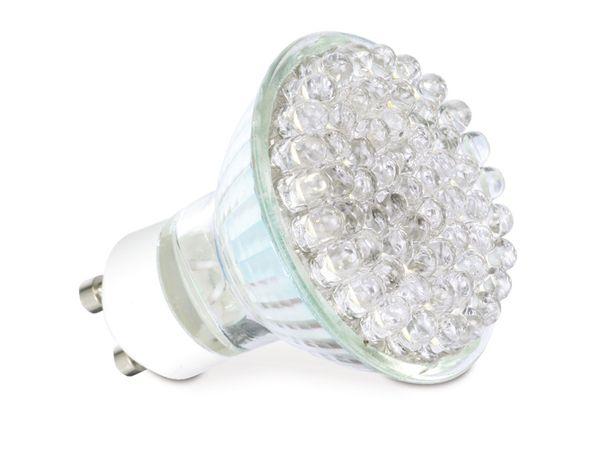 LED-Lampe, GU10, 3 W, 6400 K, 250 lm