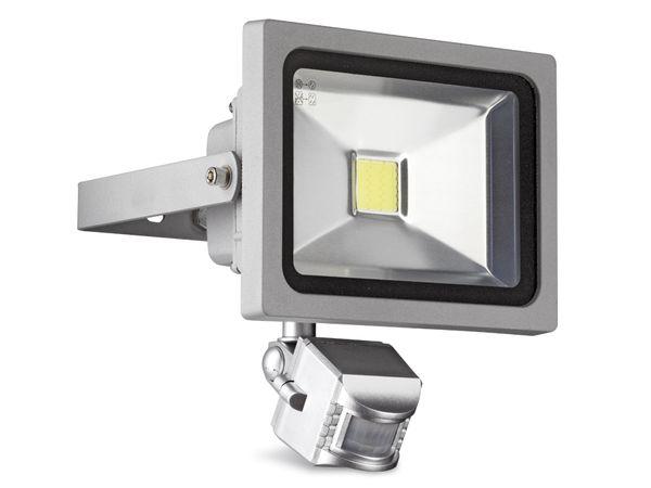 LED-Flutlichtstrahler mit Bewegungsmelder, 20 W, kaltweiß