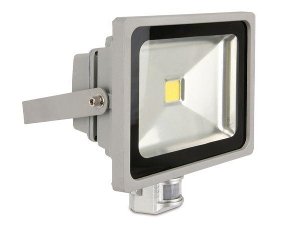 LED-Flutlichtstrahler mit Bewegungsmelder, 30 W, 1800 lm, 6400K