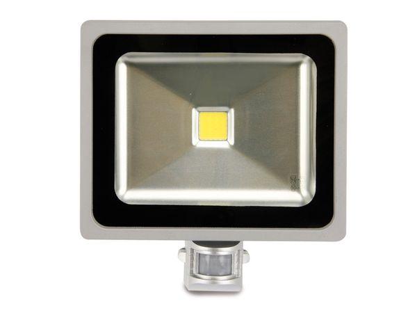 LED-Flutlichtstrahler mit Bewegungsmelder, EEK: A, 30 W, 1800 lm, 6400K - Produktbild 2