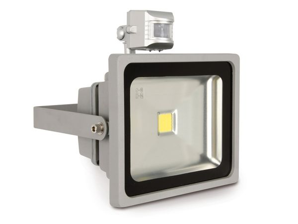 LED-Flutlichtstrahler mit Bewegungsmelder, 30 W, 1800 lm, 6400K - Produktbild 3