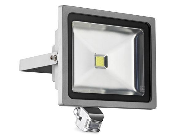 LED-Flutlichtstrahler mit Bewegungsmelder, 50 W, kaltweiß
