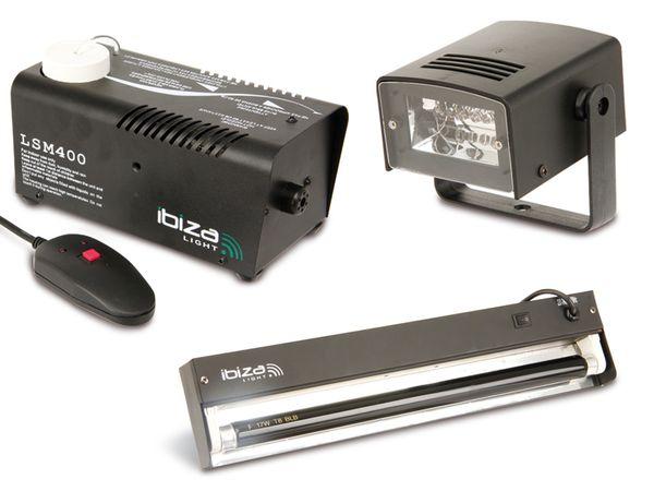 Licht-/Effekt-Set mit Nebelmaschine IBIZA NIGHT & LIGHT - Produktbild 1