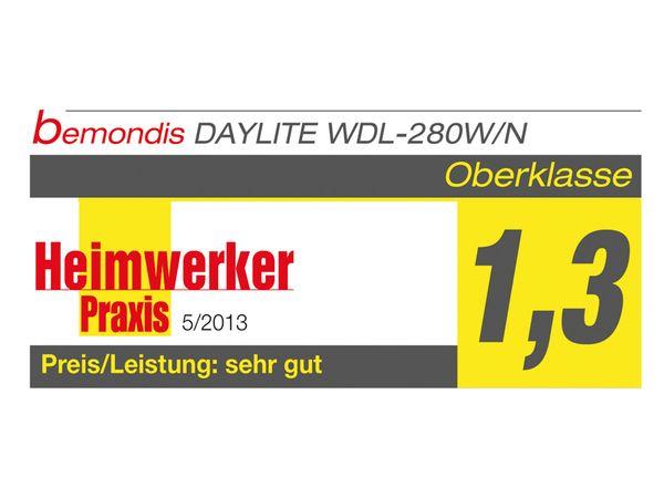 LED Wand- und Deckenleuchte DAYLITE WDL-280S/N, EEK: A+, 21 W, 1850 lm - Produktbild 2