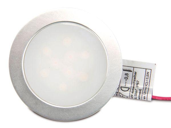 LED-Einbauleuchte, 55 mm, 12 V-/0,5 W, RGB, IP65