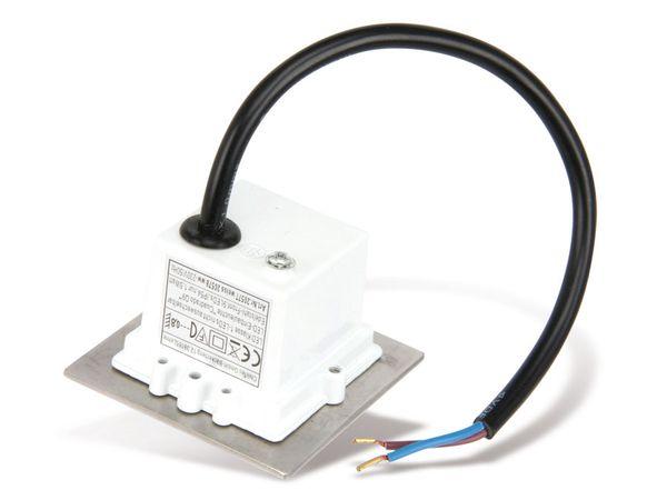 LED-Einbauleuchte, 70x70 mm, EEK: G, 1,5 W, 40 lm, 6200K - Produktbild 3
