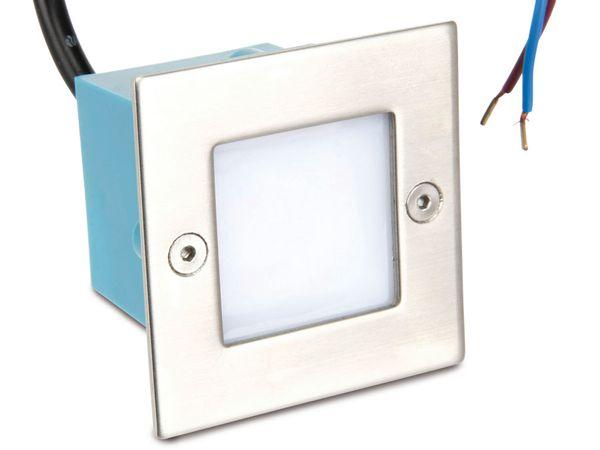 LED-Einbauleuchte, 70x70 mm, 230 V~, 3000K, IP54 - Produktbild 1