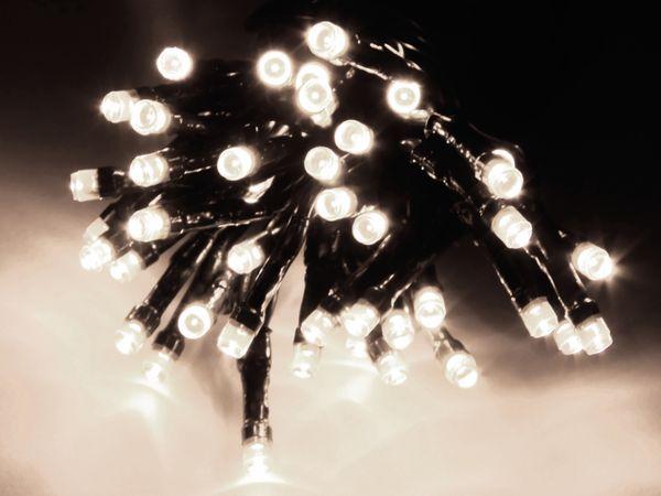 LED-Lichterkette, 320 LEDs, kaltweiß, 230V~, IP44, Innen/Außen