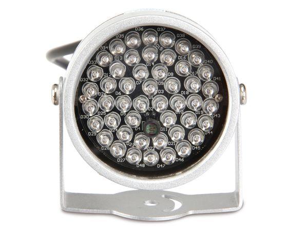 IR-Scheinwerfer für CCD- und CMOS-Kameras, 12 V- - Produktbild 3