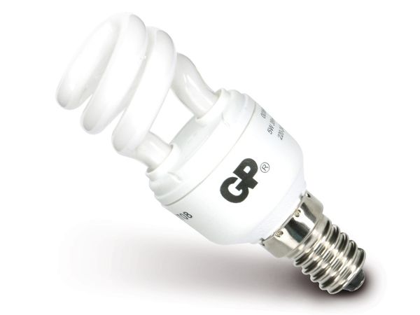 Energiesparlampe GP 055518-ESB1, E14, 5 W, 250 lm