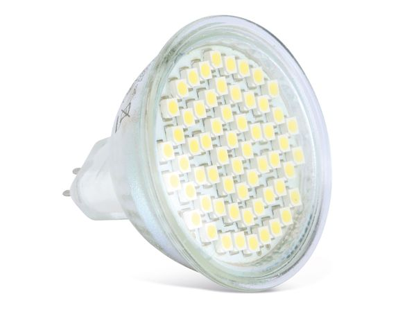 LED-Lampe, MR16, 3 W, 6400 K, 200 lm, kaltweiß