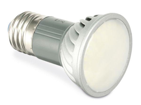 LED-Lampe, E27, 5 W, 2900 K, 380 lm, matt, HEITRONIC 16091 - Produktbild 1