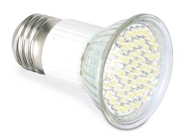 LED-Lampe, E27, 3 W, 6400 K, 200 lm, HEITRONIC 16437 - Produktbild 1