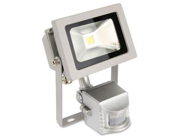 LED-Fluter mit Bewegungsmelder DAYLITE LFB-10W, EEK: A+, 10 W, 800 lm - Produktbild 1