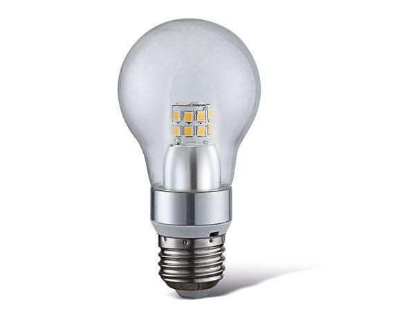 LED-Lampe in Glühlampenform, 4 W, 400 lm, 3000K, klar