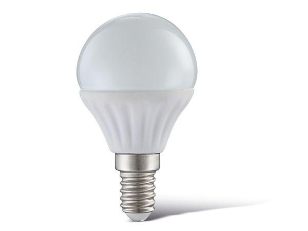 LED-Lampe, E14, 230 V~, 4 W, 3000 K, 320 lm, matt
