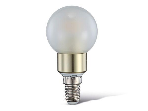 LED-Lampe, E14, 230 V~, 4 W, 3000 K, 400 lm, matt