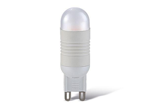 LED-Lampe, G9, 230 V~, 1,9 W, 3000 K, 150 lm, 3 Stück