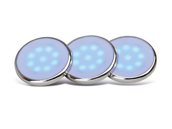 Aufbauleuchten-Set BRILLIANT Lennart, blau, G94625/73 - Produktbild 1