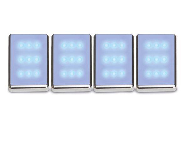 Aufbauleuchten-Set BRILLIANT Viktor, blau, G94626/73 - Produktbild 1