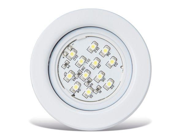 Möbel-Ein/Aufbauleuchte BRILLIANT Fluenca LED, 3er-Set, weiß, G94628/05 - Produktbild 1