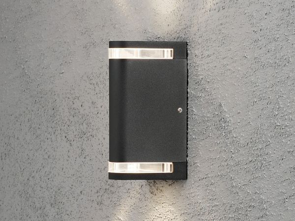 KONSTSMIDE MODENA AITES Up&Down 7518-750 Wandleuchte, schwarz - Produktbild 1