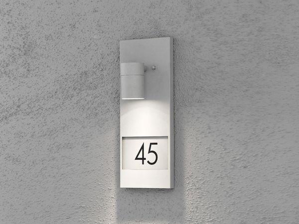 KONSTSMIDE MODENA NUMBER 7655-300 Wandleuchte, grau - Produktbild 1