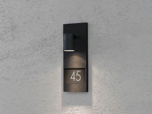 KONSTSMIDE MODENA NUMBER 7655-750 Wandleuchte, schwarz - Produktbild 1