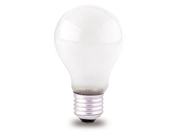 Glühlampe PHILIPS, E27, EEK: E, 75 W, Birne, matt
