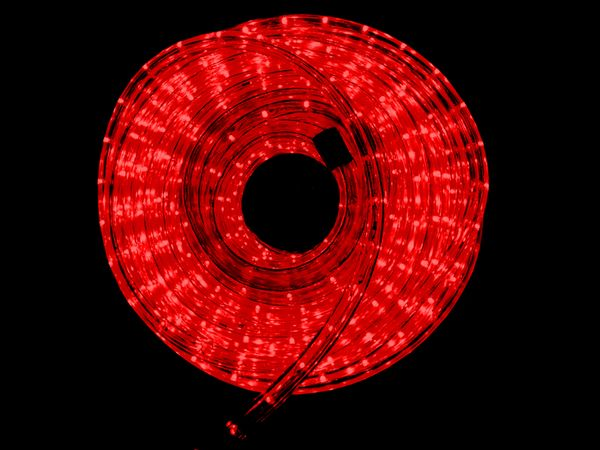 LED-Lichtschlauch ILUFA 168063, 6 m, IP44, rot