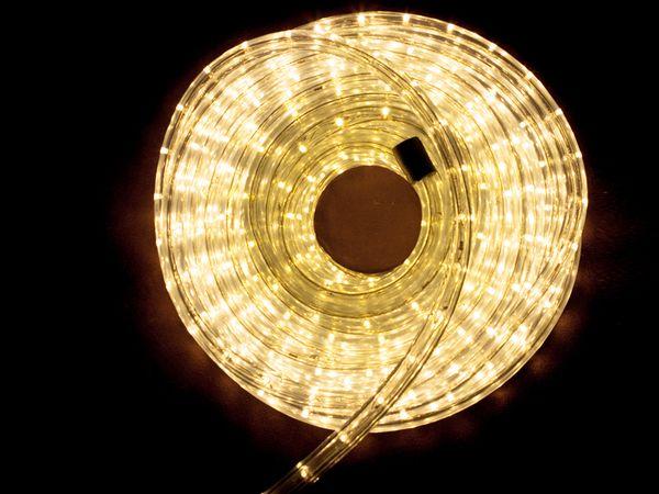 LED-Lichtschlauch ILUFA 168068, 10 m, IP44, warmweiß