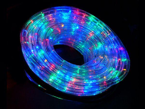 LED-Lichtschlauch ILUFA 168072, 10 m, IP44, farbig