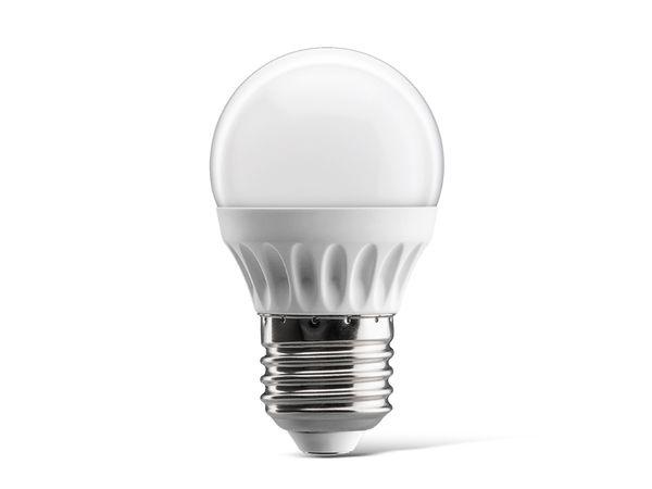 LED-Lampe DAYLITE BM-E27-320WW, Ball, 4,5 W, 320 lm, warmweiß
