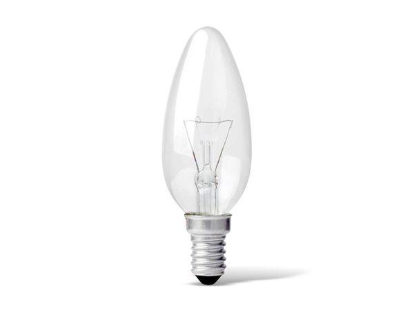Glühlampe PHILIPS, E14, 25 W, klar