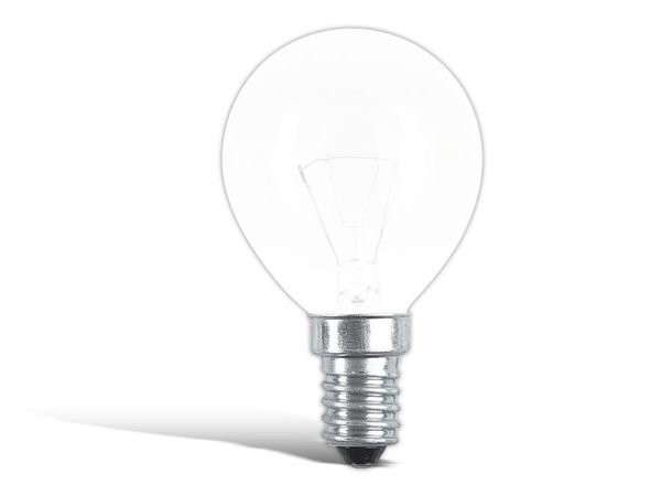 Glühlampe PHILIPS, E14, EEK: F, 60 W, Tropfen, matt