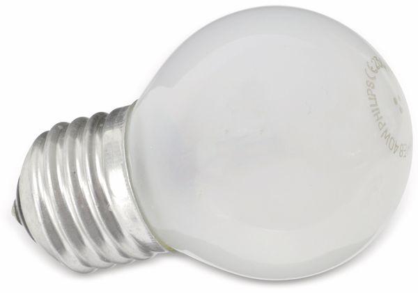 Glühlampe PHILIPS, E27, EEK: E, 40 W, Tropfen, matt