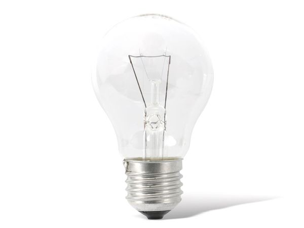Glühlampe ORMALIGHT, E27, 60 W, klar, 10 Stück - Produktbild 1