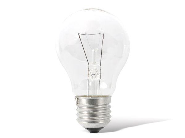 Glühlampe ORMALIGHT, E27, 60 W, klar - Produktbild 1