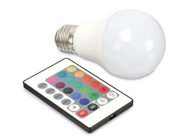 RGB LED-Lampe DAYLITE BM-E27-75RGB, E27, EEK: A, 6W, 340 lm, 6000 k - Produktbild 1