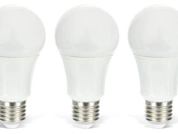 LED-Lampe DAYLITE BM-E27-806WW, Ball, 9,5 W, 806 lm, warmweiß, 10 Stück