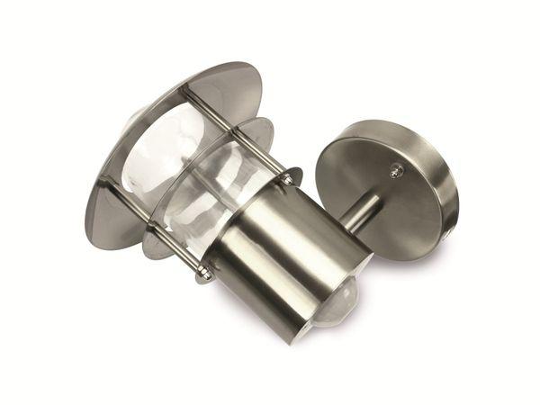 Design-Außenleuchte mit Bewegungsmelder 5000.357, Edelstahl - Produktbild 1
