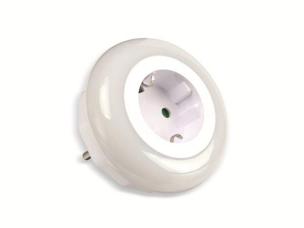 LED-Nachtlicht mit Dämmerungsautomatik DAYLITE NL-82-WBG - Produktbild 1