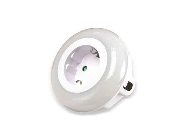LED-Nachtlicht mit Dämmerungsautomatik DAYLITE NL-82-WBG - Produktbild 2