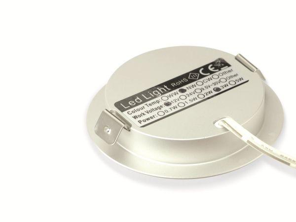 LED-Einbauleuchte DAYLITE LEL-60N, EEK: A+, 12 V-, 3 W, 4000 K - Produktbild 2