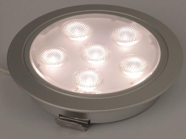 LED-Einbauleuchte DAYLITE LEL-60N, EEK: A+, 12 V-, 3 W, 4000 K - Produktbild 3