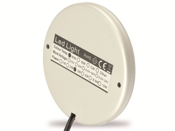 LED-Aufbauleuchte DAYLITE LAL-68PWPIR, EEK: A+, 12 V-, 2,8 W, 2800 K - Produktbild 2
