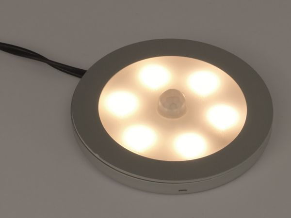 LED-Aufbauleuchte DAYLITE LAL-68PWPIR, EEK: A+, 12 V-, 2,8 W, 2800 K - Produktbild 3