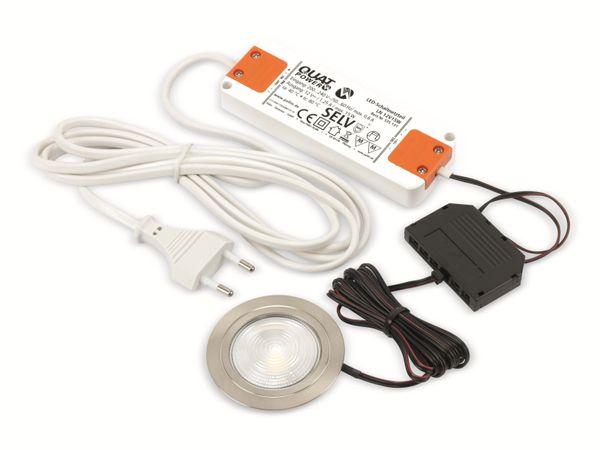 LED-Einbauleuchtenset DAYLITE LES-3/280WW, EEK: A++, 3,8 W, 280 lm, 3000 k