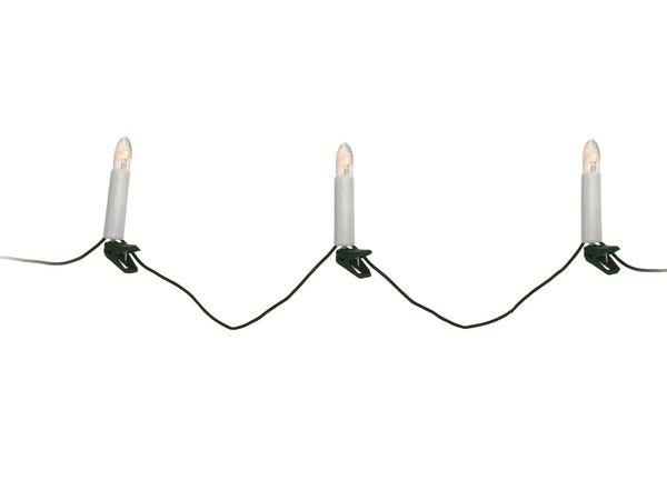 Lichterkette mit 30 Lampen, weiß - Produktbild 1